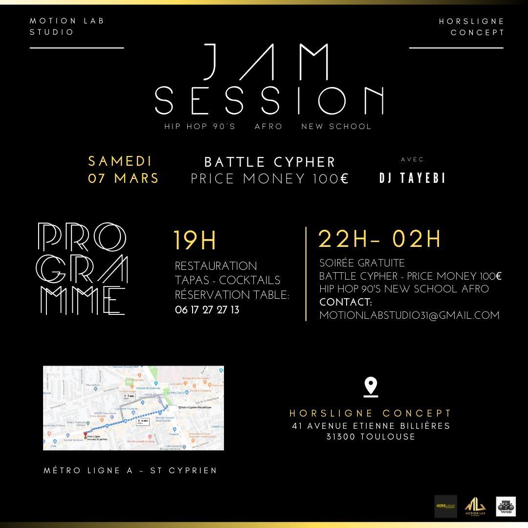 Jam session - programme